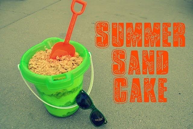 summer sand cake: Sands, Summer Entertaining, Cakes, Food, Party Ideas, Birthday Ideas