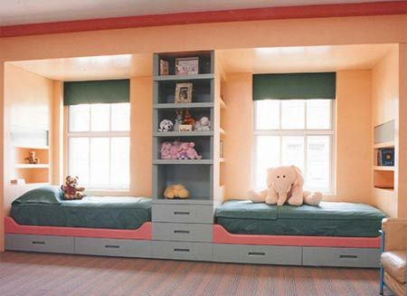 Kids shared room- idea for brooke and charlies bedroom (niece and nephew)