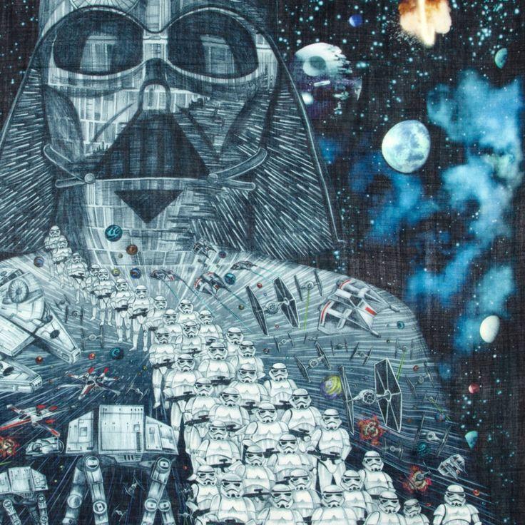 Vader Fine Wool Scarf