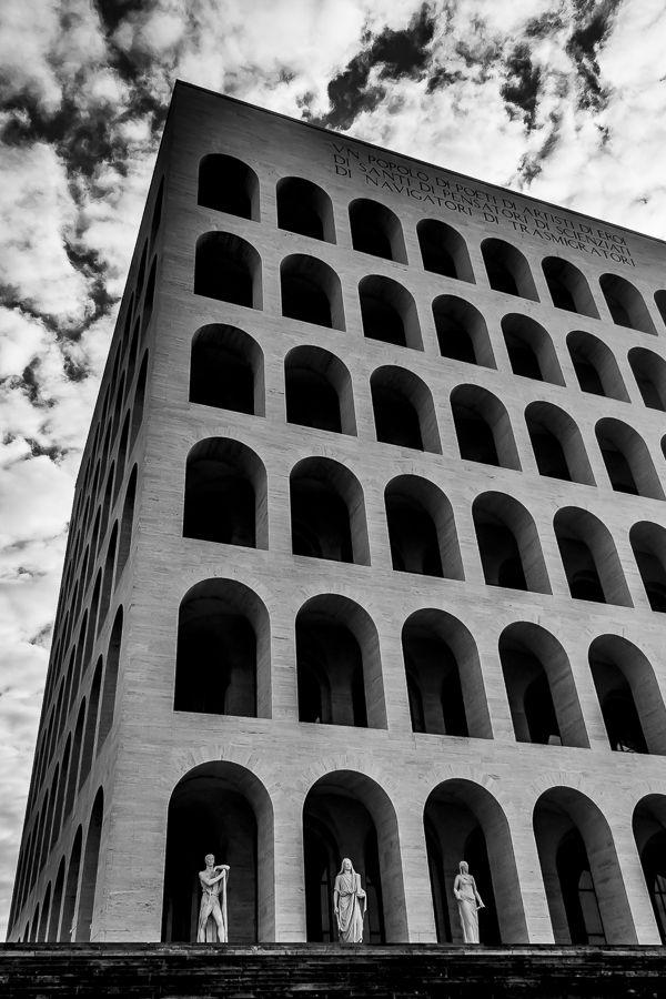coliseum  #blackandwhite #architecture #urban #rome #emanuelemeschini