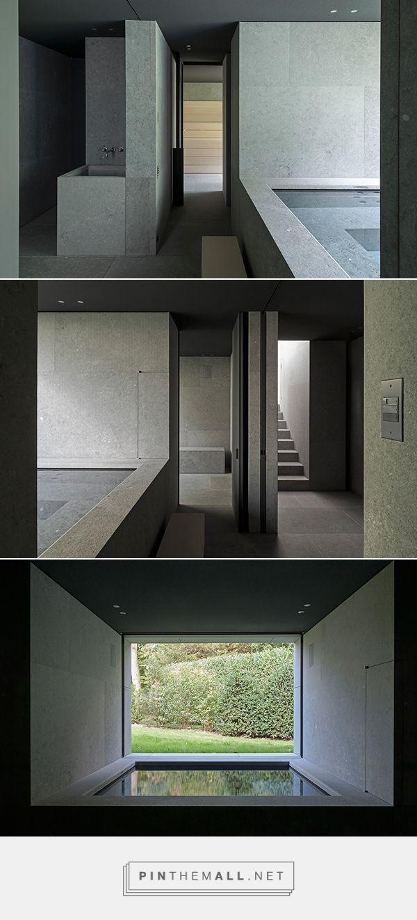 Wellness Area   Vdc Residence In Kortijk Belgium By Vincent Van Duysen   Natural  Stone By
