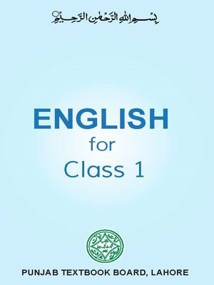 Class 1 English Punjab Textbook (PDFhive com) Class 1 All Punjab