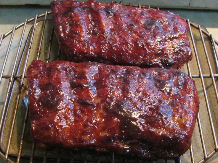 Home Smoked Ribs! Delicious :)