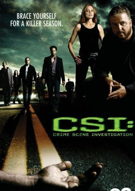 on my top 10 series: CSI: Las Vegas