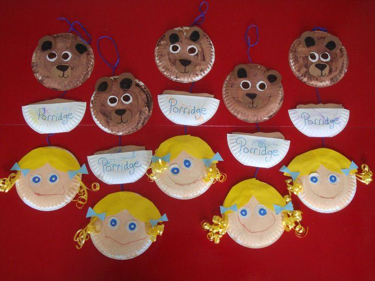 Goldilocks wall hanging Nursery Rhyme/Fairy Tale month