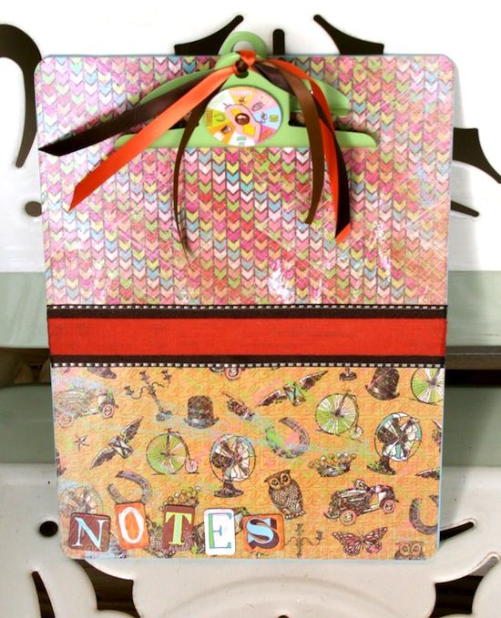How to make a clipboard with Mod Podge