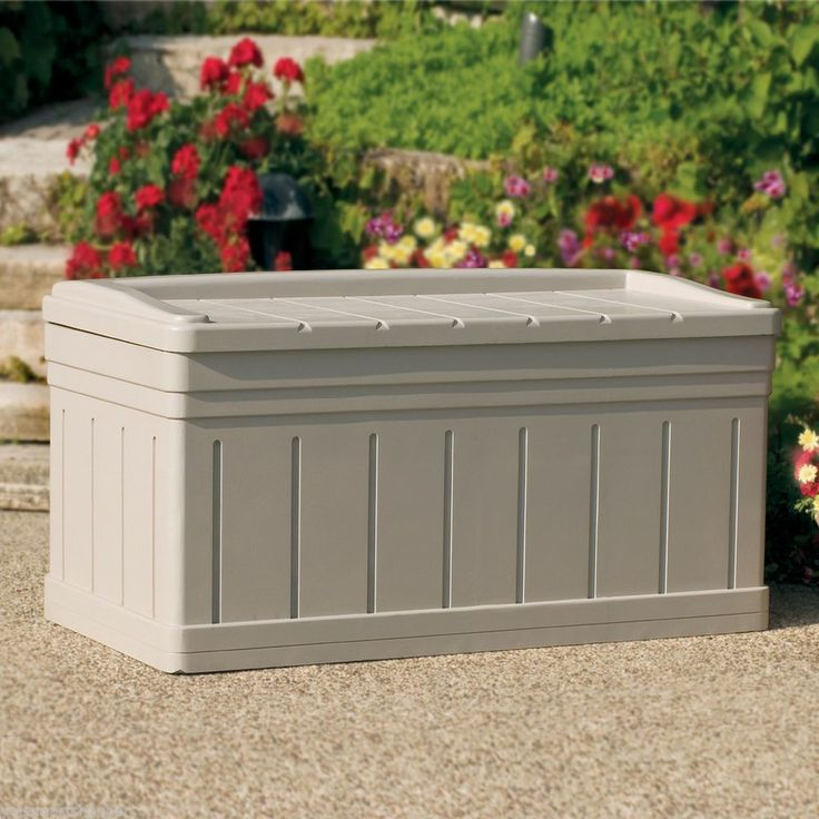 126 Best Images About Deck Storage Boxes On Pinterest Outdoor Benches Storage Boxes And Decks