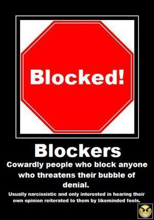 Blocking People On Facebook Quotes. QuotesGram