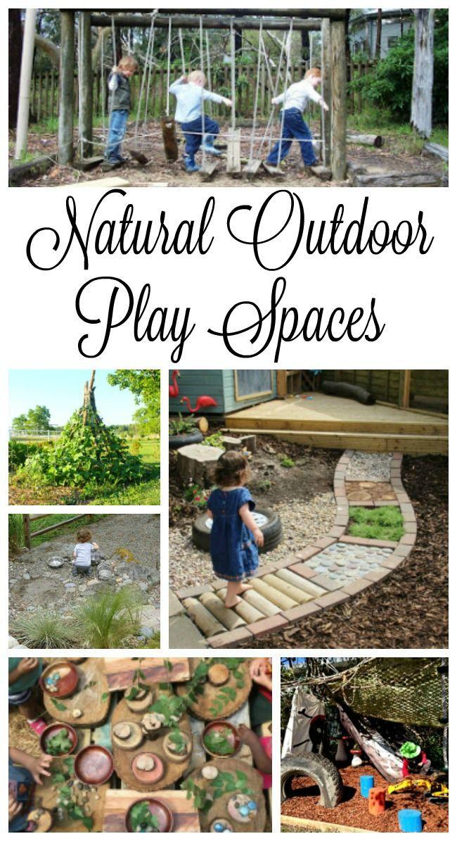 Wunderschöne und einladende Spielplätze im Freien