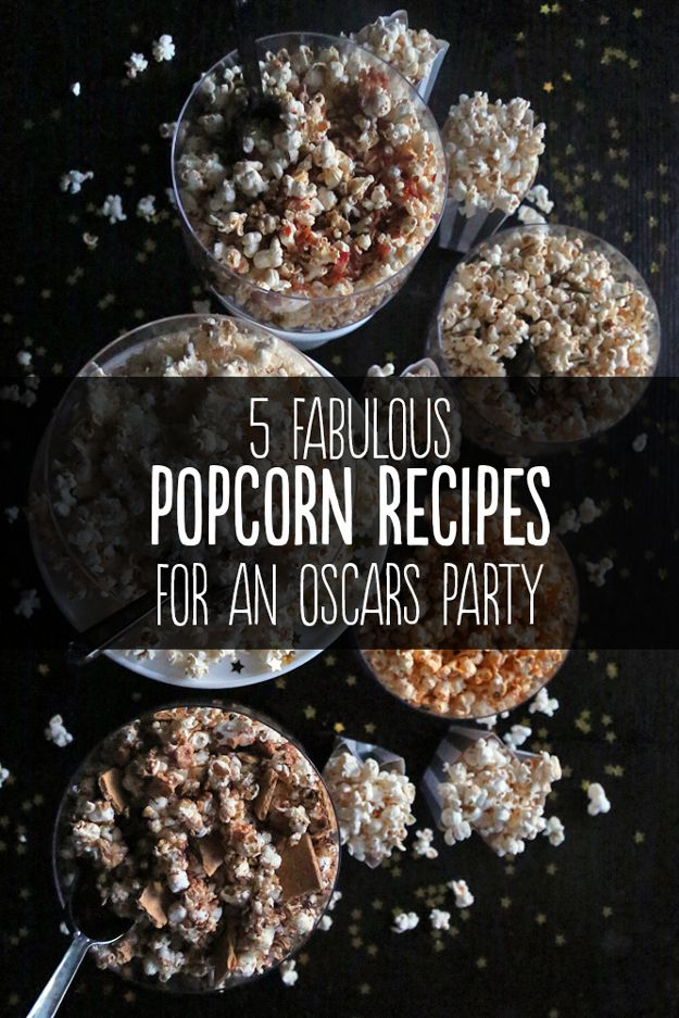 cheap statement jewelry  Fabulous Popcorn Recipes For An Oscars Party