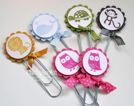Paper clip bookmarks