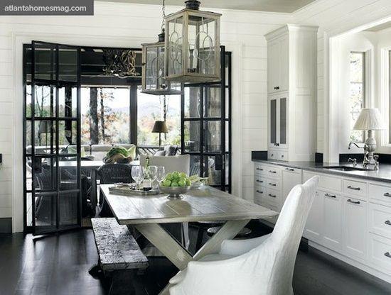 #blackandwhite #kitchen #home