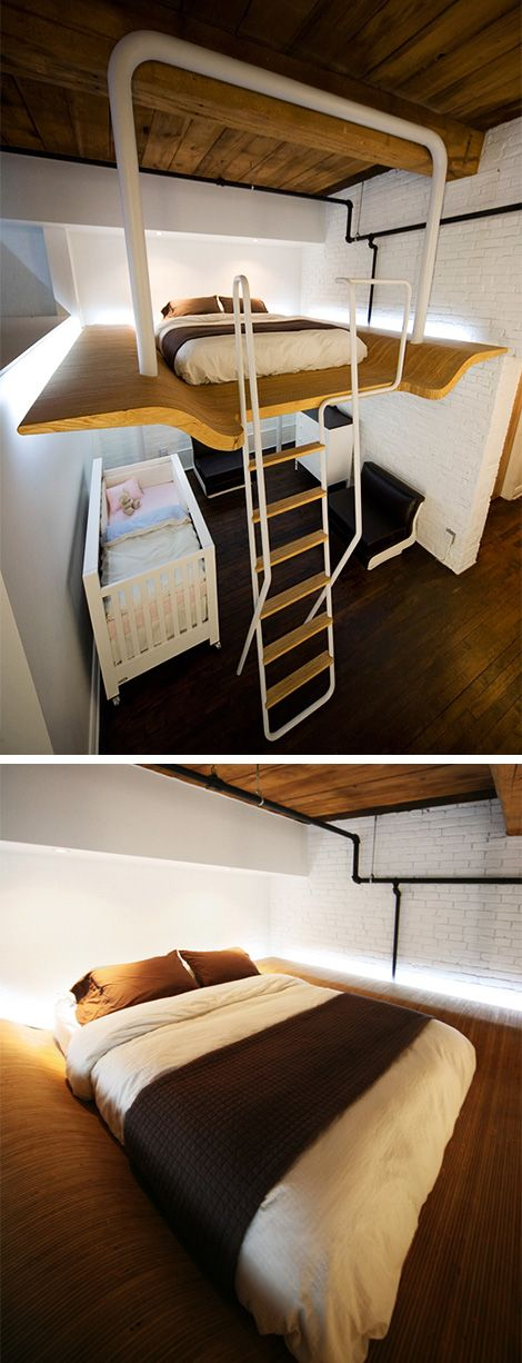 38 best cool lofts images on pinterest dreams loft apartments and my house. Black Bedroom Furniture Sets. Home Design Ideas
