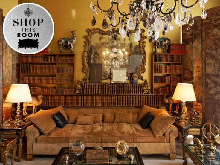 Shop This Room: Coco Chanel's Paris Living Room | StyleCaster