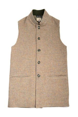 Campbell's of Beauly - Tweed Gilet Shetland Spott