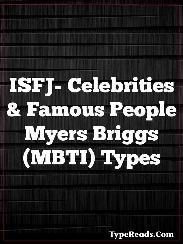 Celebrity personality types estj