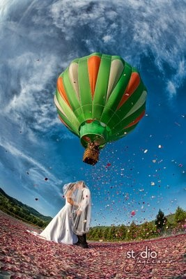 hot air balloon: Airballoon, Wedding Photography, Balloon Pin, Balloon Cakes, Beautiful Balloon, Hot Air Balloon Wedding, Hot Air Balloons, Balloon Up Up And Away, Photography Backdrops