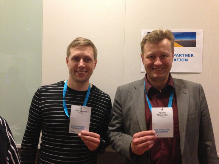 Learning partners: Olof & Tommi
