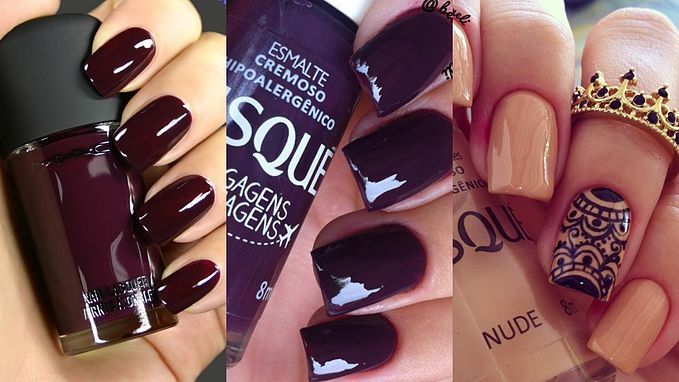 Cores de esmaltes outono-inverno. | Maquiagem, beleza, cabelos, unhas e mais em Lolô Style
