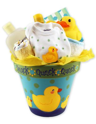 Baby Shower Duck Pot