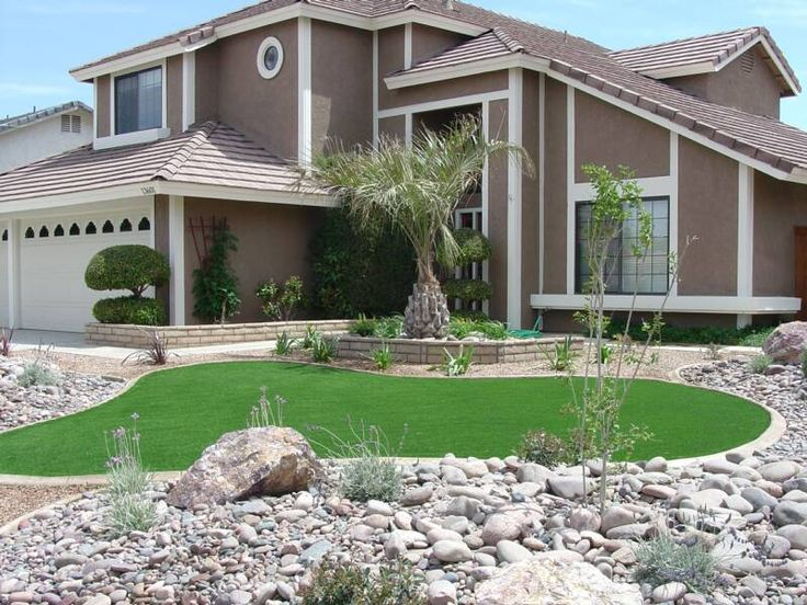 Fake Grass Yards : Front yards, Close to and Yard design on Pinterest