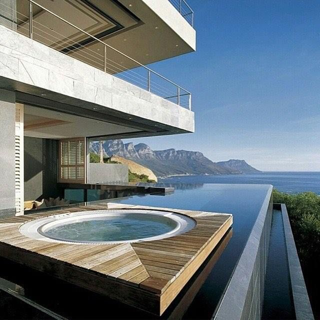 Impressive House by SAOTA Location: Bantry Bay #CapeTown #SouthAfrica