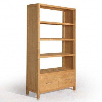 Rak Buku Minimalis dari bahan kayu jati TPK atau kayu jati perhutani. Dengan desainnya yang simple/ minimalis dan dengan tetap menampakan teksture kayu jatinya membuat rak buku ini terlihat alami.