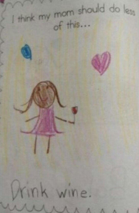 One day our kids will make drawings like this of us @Corin Burke