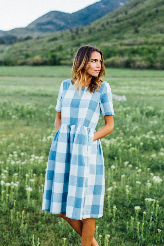 Picnic Dress | Clad & Cloth Apparel                                                                                                                                                                                 More