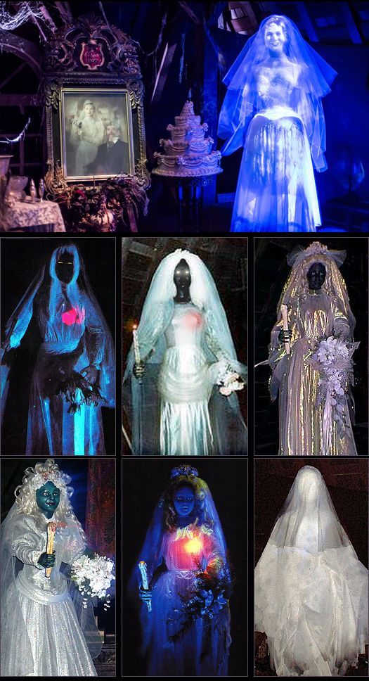 The Bride in the Attic: A Riddle, Veiled in an Enigma.  She has changed much over the years, but she still haunts the mansion's attic in her wedding gown.