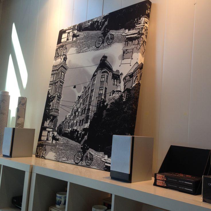 Vallila - Bulevardi design as canvas art
