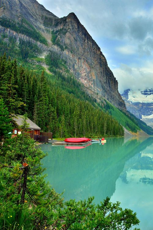 Lake Louise, Banff Canada - My favorite space in Alberta - Arch Angel Michaels power place on earth <3