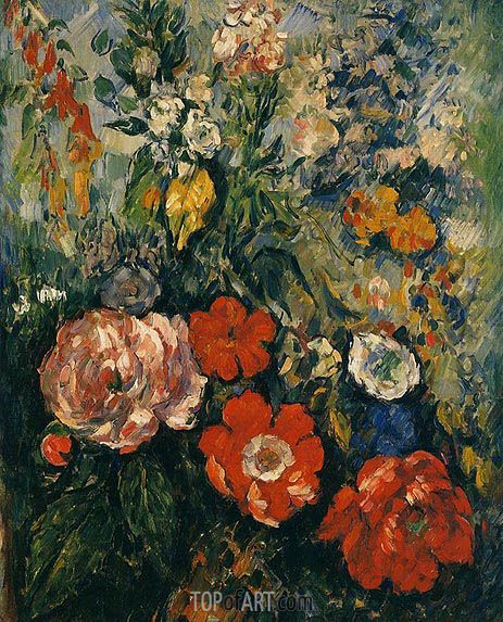 Cezanne | Bouquet of Flowers, c.1879/80