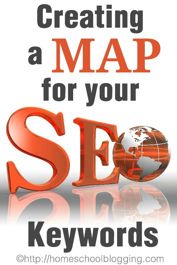 Creating an SEO Keyword Map - with a  free printable map and a Google Drive link if you prefer online. This is an amazing tool!