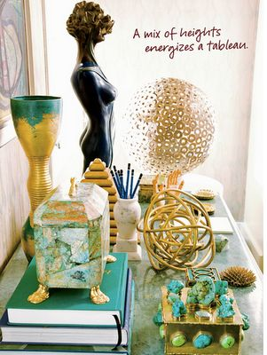 Kelly Wearstler: Vignettes, Decor, Tables Scapes, Style, Home Accessories, Interiors Design, Colors Palettes, Jewels Tones, Kelly Wearstler