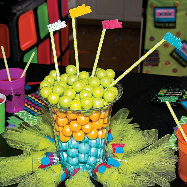 12 best images about 80s party on pinterest 80s party for 80 birthday decoration ideas