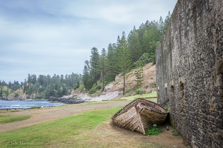 """""""It's Over"""" Captured on Norfolk Island Australia). Norfolk Island  is a small island in the Pacific Ocean located between Australia, New Zealand and New Caledonia. The island served as a convict penal settlement until May 1855, except for an 11-year hiatus between 1814 and 1825, when it was abandoned. The wall is a part of an mill, where the prisoners were working in a circle for hours, turning a huge grindstone."""