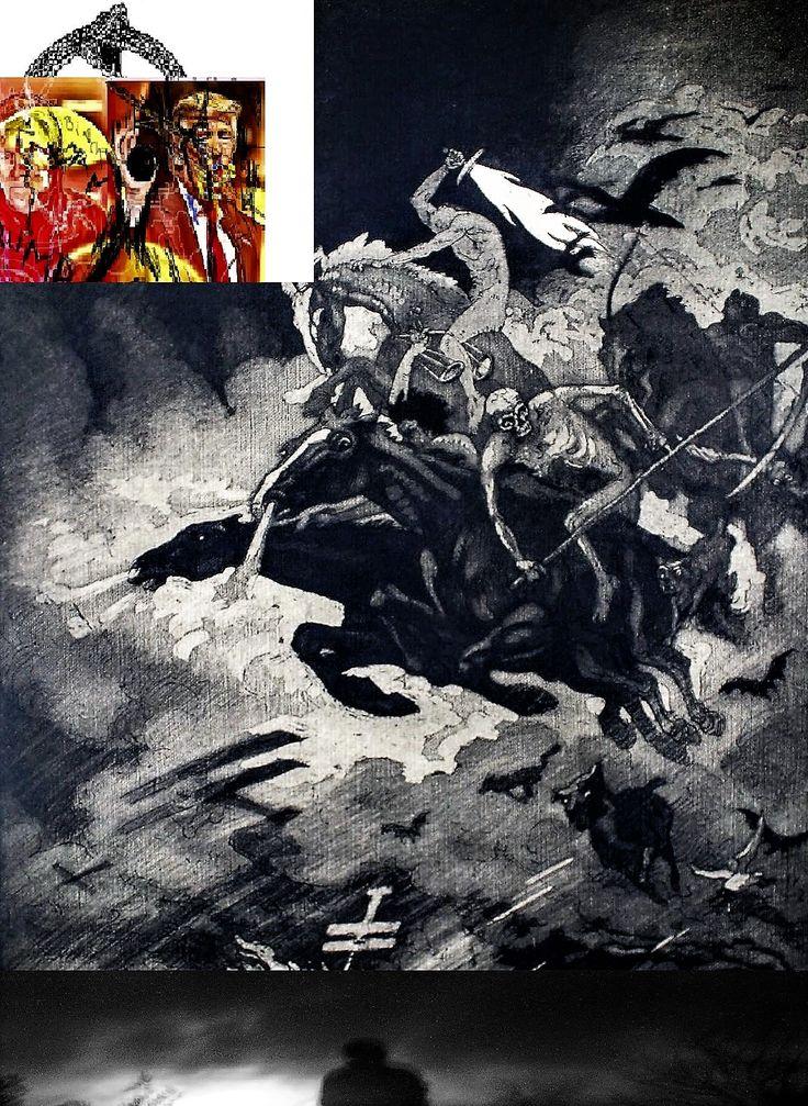 Donald Trump and the Apocalypse Riders