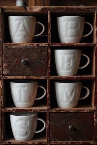 Alphabet Mugs | discoverattic