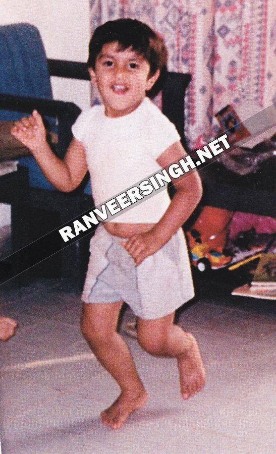 Ranveer Singh's childhood pictures