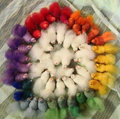 Rainbow bird tutorial