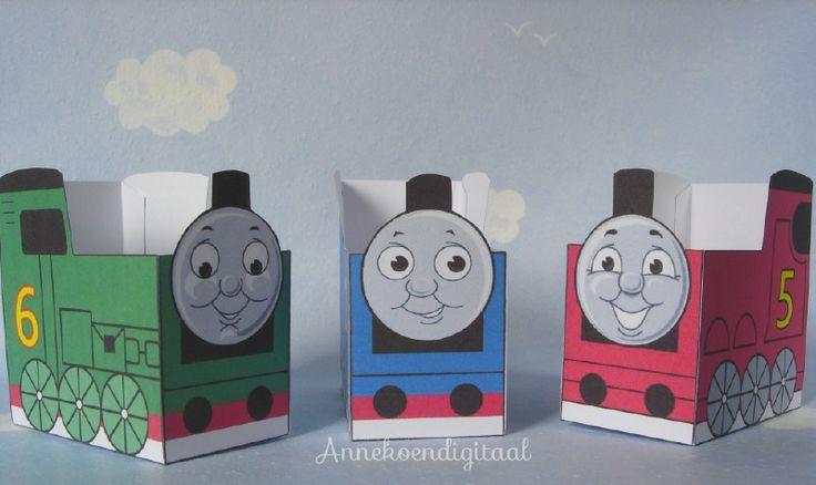 Thomas de trein en vrienden traktatie printable