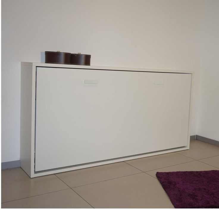 Meer dan 1000 idee n over armoire lit escamotable op for Lit meuble 2 personnes