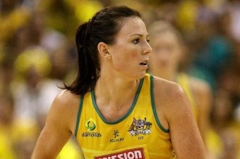 Australian netball captain Natalie von Bertouch has found herself in an unusual position.    Sidelined with a foot injury since leading Australia to the title at the world netball championship in Singapore last July, von Bertouch is feeling strangely nervous.