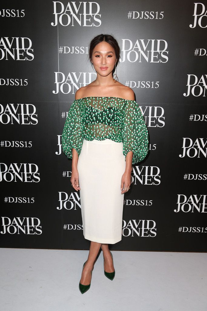 Nicole Warne - David Jones Spring/Summer 2015 Fashion Launch - August 5, 2015