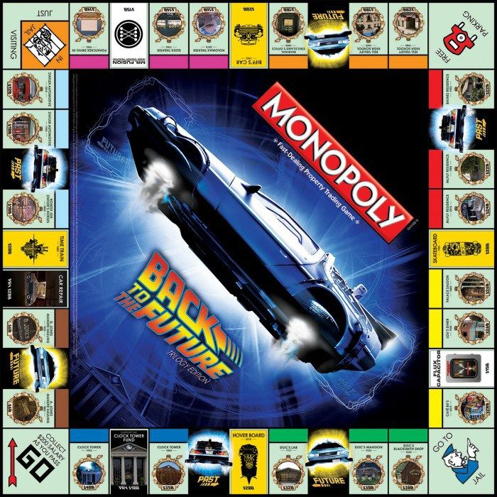 monopoly Back to the Future OMG!!!!!