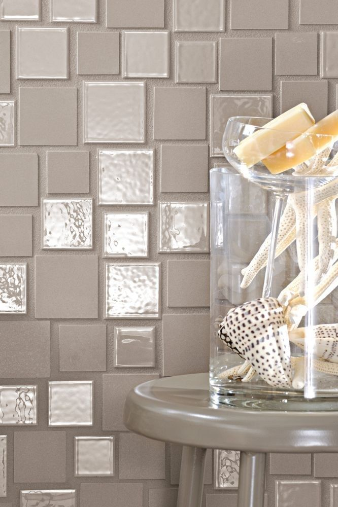 Porcelain stoneware mosaic CLOUD MIX - Brix