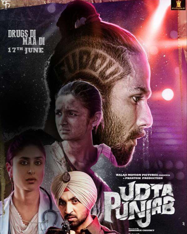 Udta Punjab new poster: Shahid Kapoor Kareena Kapoor Khan Alia Bhatt and Diljit Dosanjh will make you restless for the film with this still!