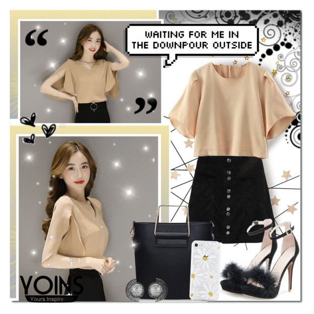 """Dark, Rusty Gold Beauty // Yoins"" by angelstylee ❤ liked on Polyvore featuring CB2, yoins, yoinscollection and loveyoins"