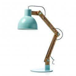 Home Republic Miranda Desk Lamp, lamp, mint lamp